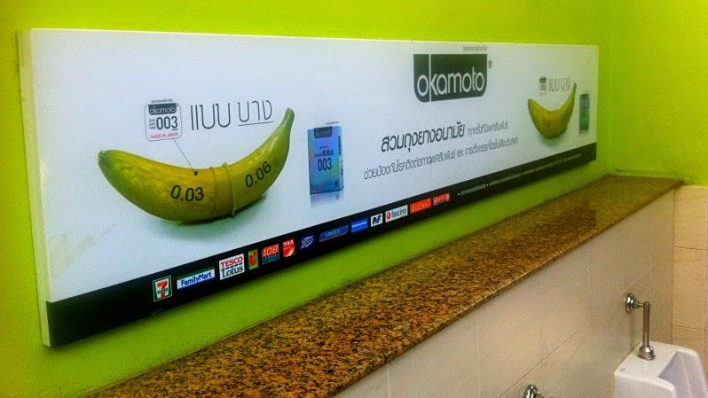 Kondom Werbung Thailand