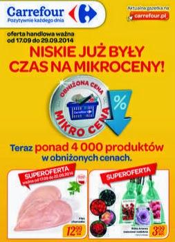 Gazetki promocyjne Carrefour