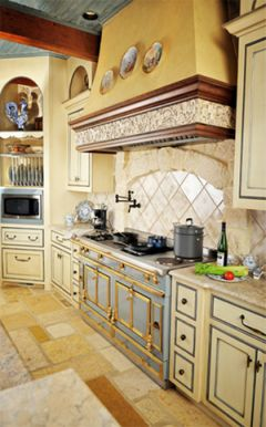 French Country Kitchen Cabinets & French Style Kitchen Cabinets ~ Home Design Idea