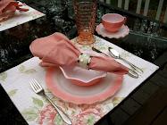 "Hazel Atlas ""Pink Crinoline"""