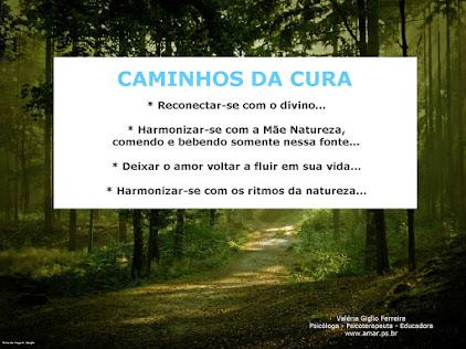 CAMINHOS DA CURA...