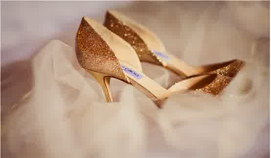 Jimmy Choo Bridal Shoes Glitter Wedding Shoes