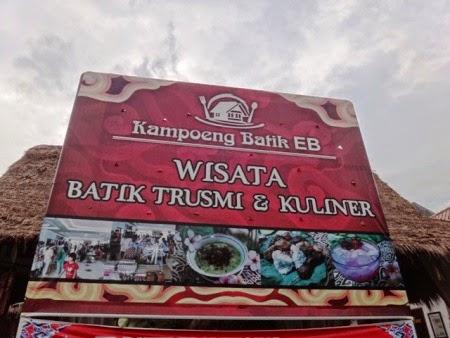 Kampung Batik Trusmi : tempat wisata batik dan kuliner di cirebon