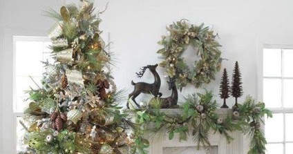 Rousseaus Fine Furniture and Decor Christmas tree inspirations
