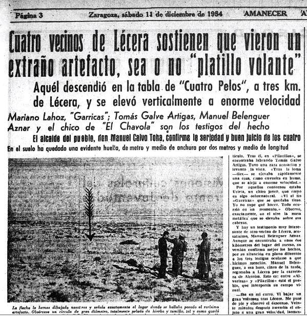 Amanecer diciembre 1954