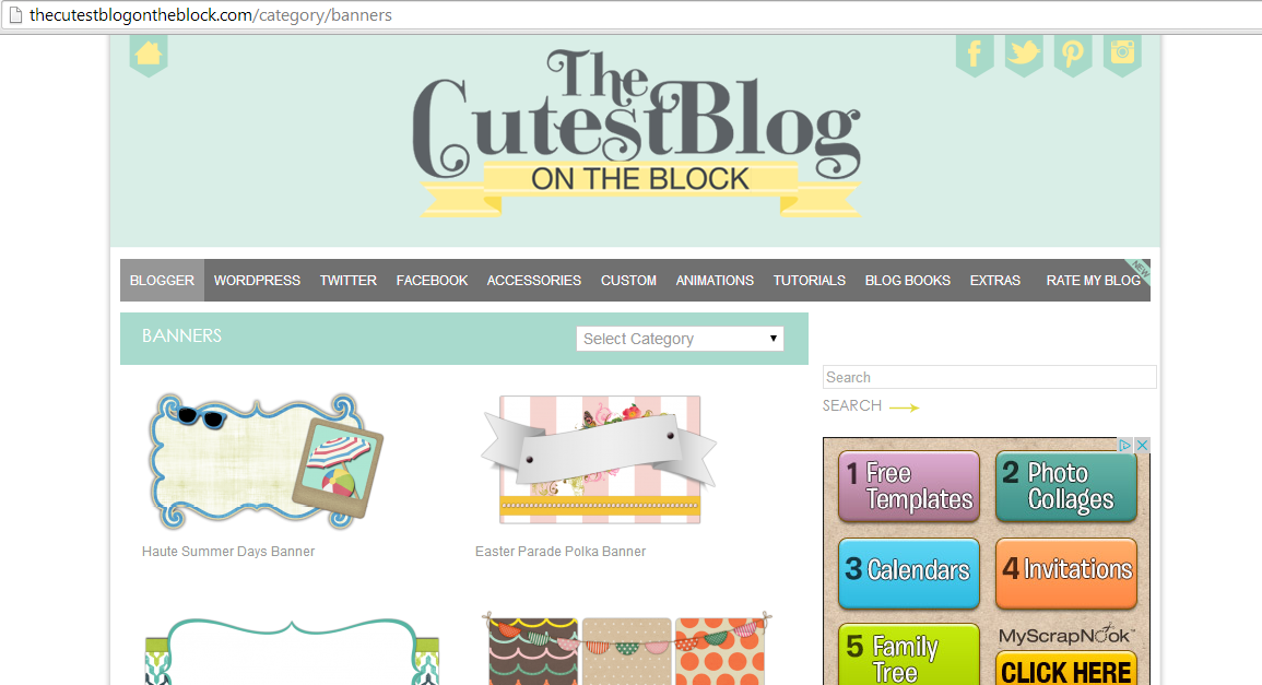 Starting a Blog: Create and Add a Blog Header (Blogger) | Laura Bora
