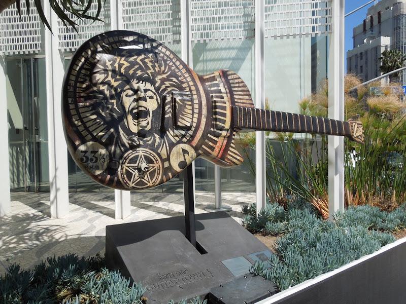 Electric Warrior Guitar Shepard Fairey