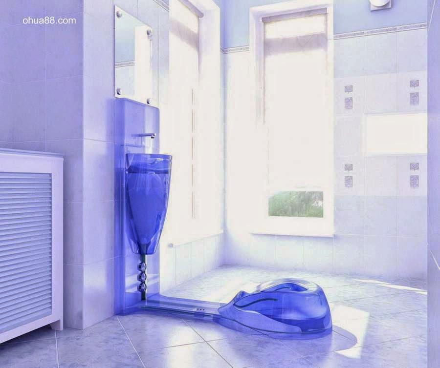 Inodoro y lavamanos vinculados ahorran consumo de agua en el baño