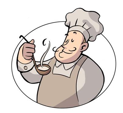Gif animados cocinero imagui for Dibujo de comedor escolar
