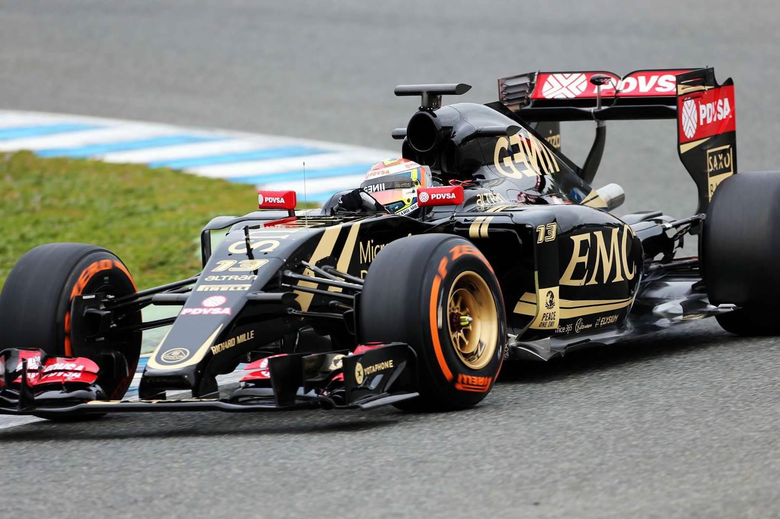 Lotus E23 - Pastor Maldonado