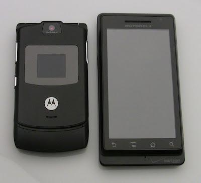 new Motorola Razr Droid