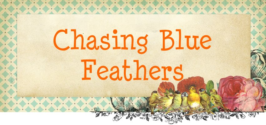 Chasing Blue Feathers