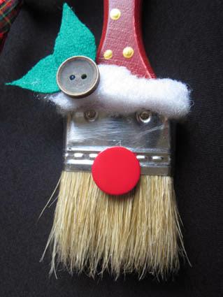 Papá Noel decoración