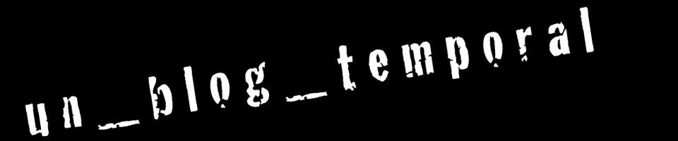 gerardo suter: un blog temporal