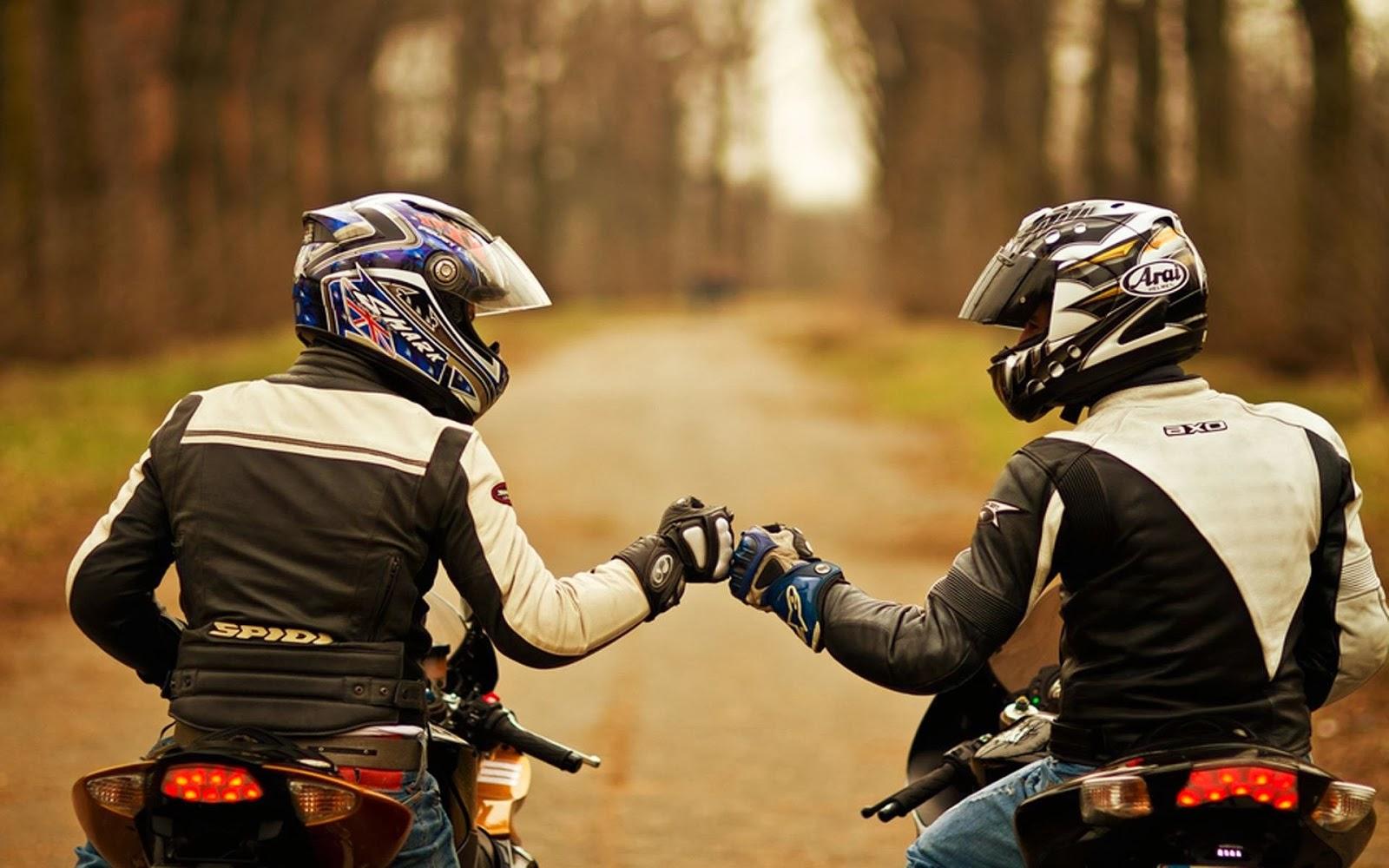 Rencontre entre bikers