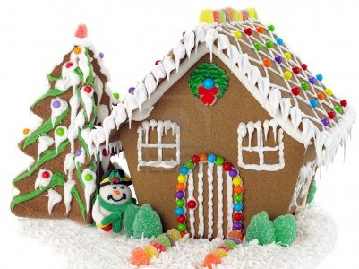 Gingerbread houses are also very common there are even gingerbread