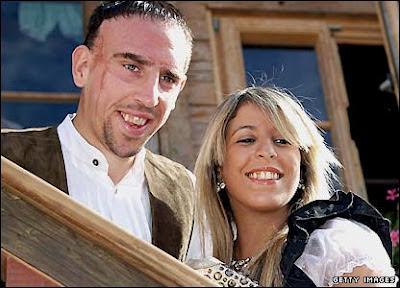 ribery e moglie