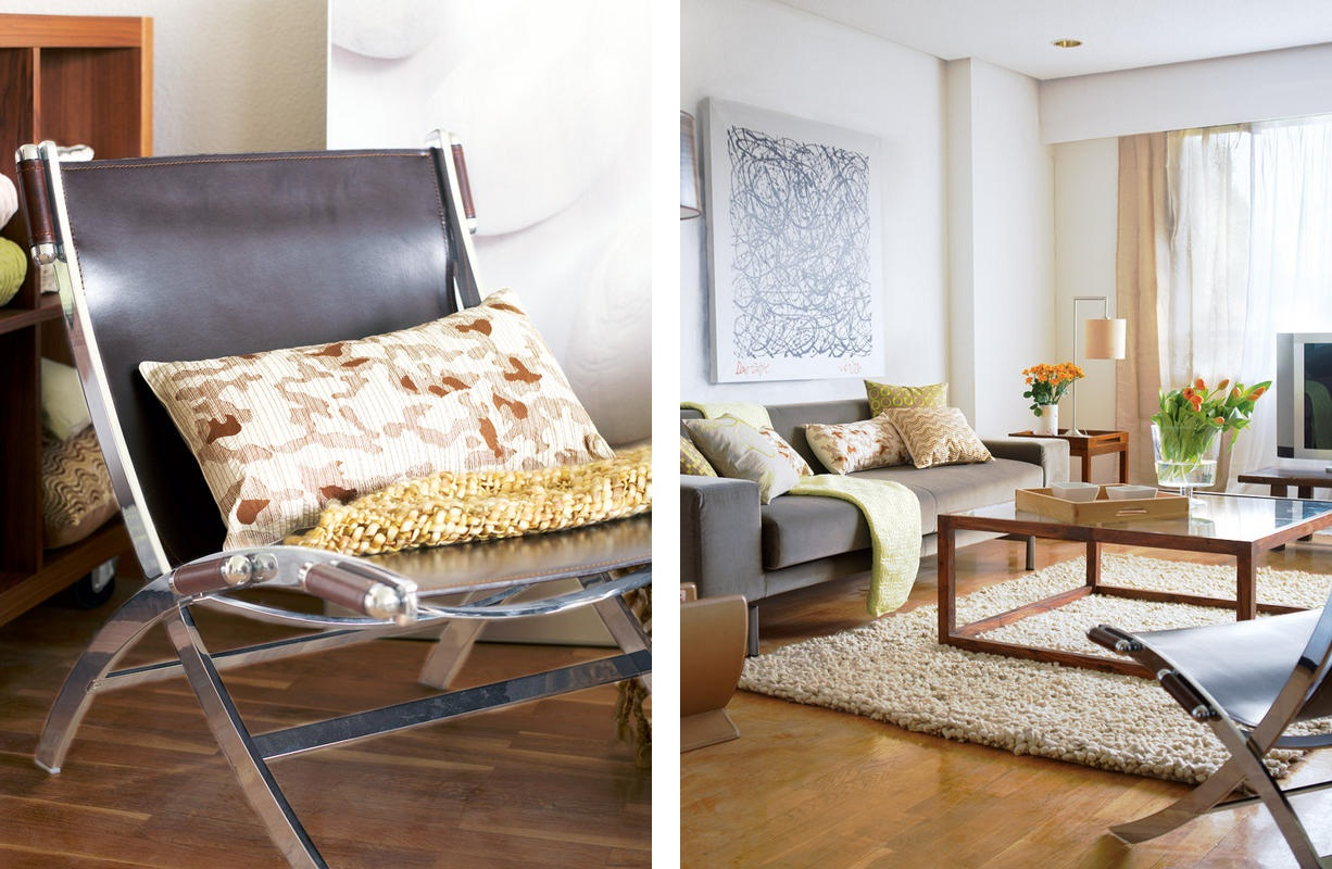 Planos Low Cost Un Sal N Bien Distribuido A Well Laid Out Living Room