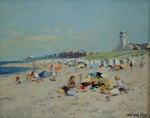 Het strand bij Katwijk