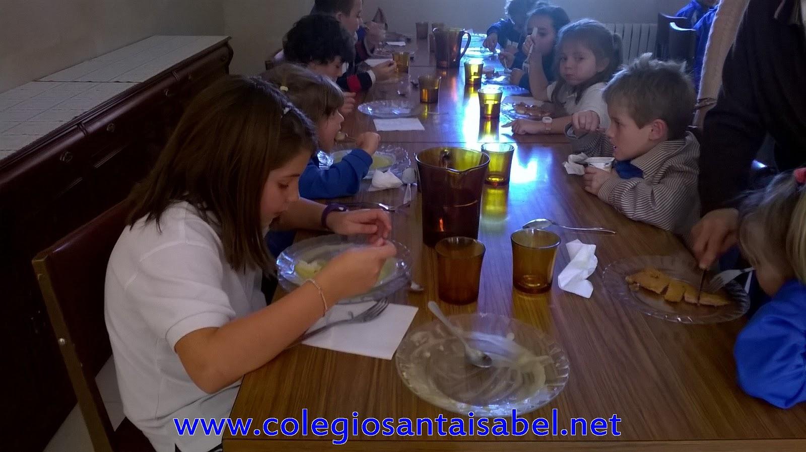 Peques santa isabel el comedor escolar for Como mantener silencio en un comedor escolar