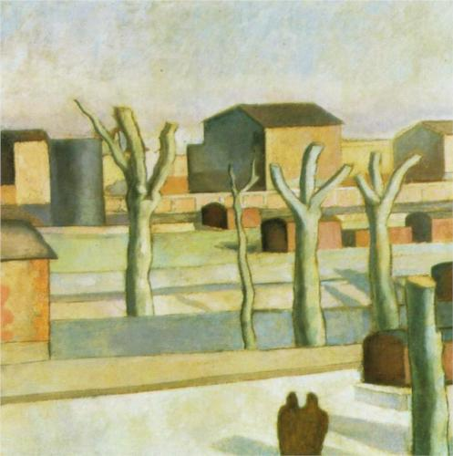 Salvador Dalí, The Station at Figueras, 1926
