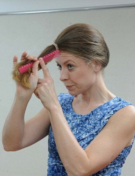 How To Hair Cut : supposed to suit anyone with medium to long hair who just needs ...