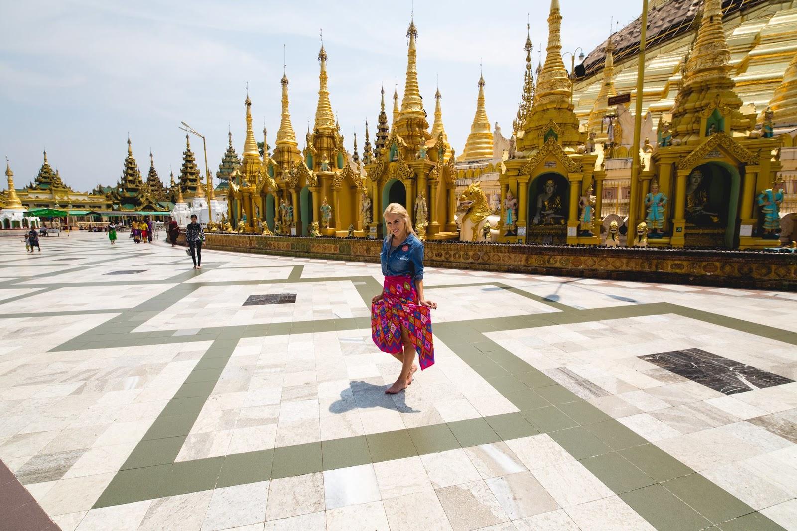 DJ Artist HELENA at Water Festival, Yangon, Myanmar