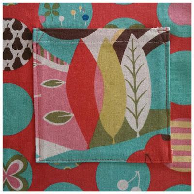 Avant Garden Fantasia pocket - perfectly practical and fabulous