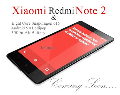 Get Ready for Xiaomi Redmi Note 2 with MiUi 7 OS