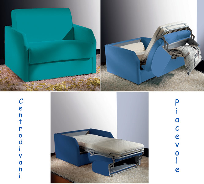 Centro divani piacevole poltrone letto for Casa milano divani