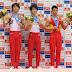 No masculino, Japão vence final por equipes e individual geral do Campeonato Asiático 2015