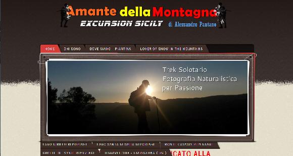 LE ESCURSIONI DI ALESSANDRO PANTANO IN SICILIA