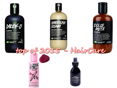 Top of 2015 - Haircare
