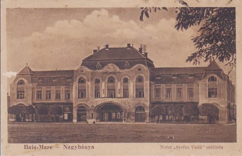 Hotelul Stefan Voda din Baia Mare