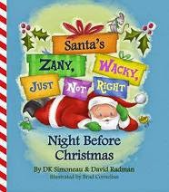 Santa's Zany Wacky Just Not Right Night Before Christmas cover