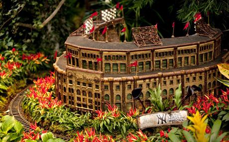 The New York Botanical Garden S Holiday Train Show