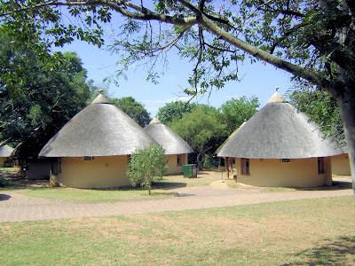 Widok na kemping Skukuza w Parku Krugera w RPA