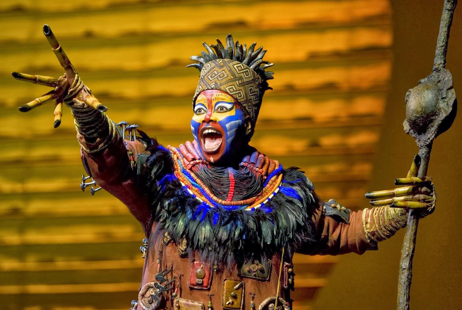 Lion King Rafiki Broadway Broadway 39 s The Lion King