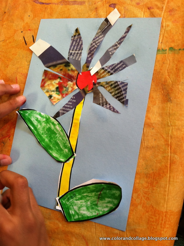 Color collage and much more recycled paper flowers recycled paper flowers mightylinksfo
