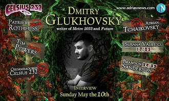 Don't miss Dmitry Glukhovsky's interview on May the 10th!