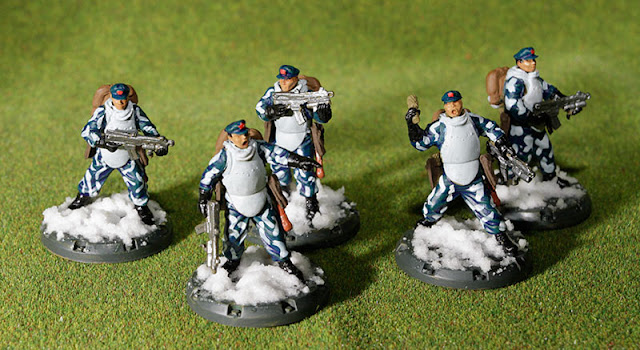 Dust Warfare SSU Chinese Volunteers