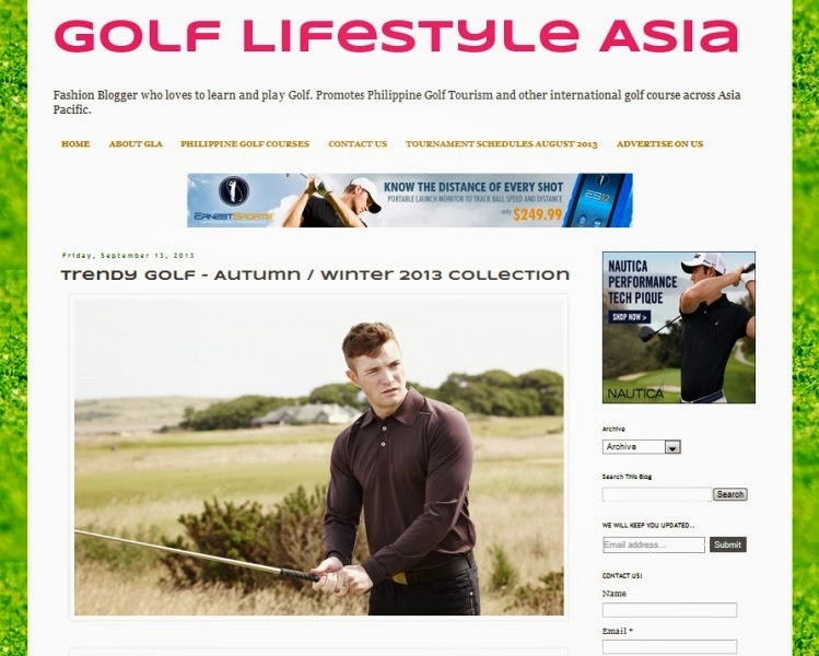 Travel and Golf Blogger for GLA