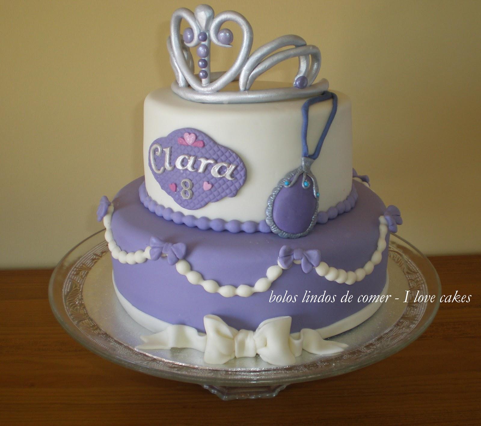 bolos lindos de comer bolo princesa sofia ii princess sofia cake ii. Black Bedroom Furniture Sets. Home Design Ideas