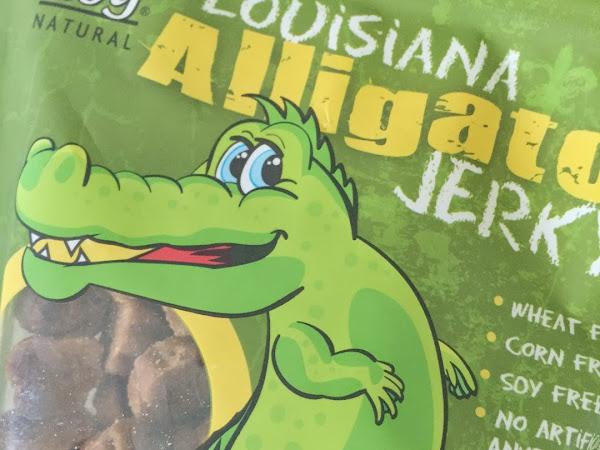 Review: Louisiana Alligator Jerky Dog Treats