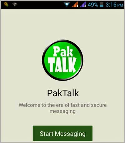 PakTalk New Competitor of Whatsapp In Pakistan