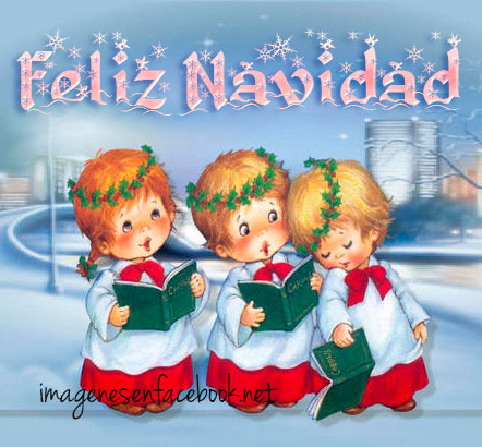 Cantando Navidad Niños Cantando Feliz Navidad