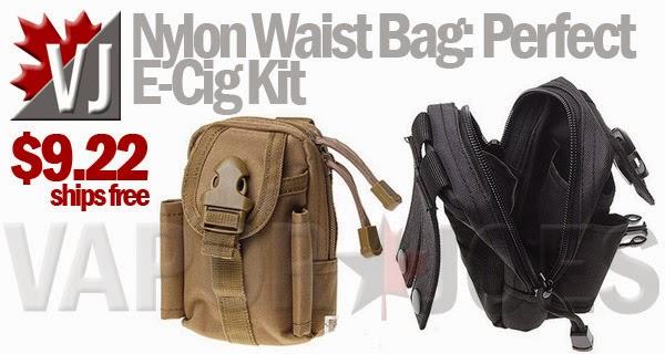 Keep Gear Handy Nylon Waist Bags For Vape 9 22