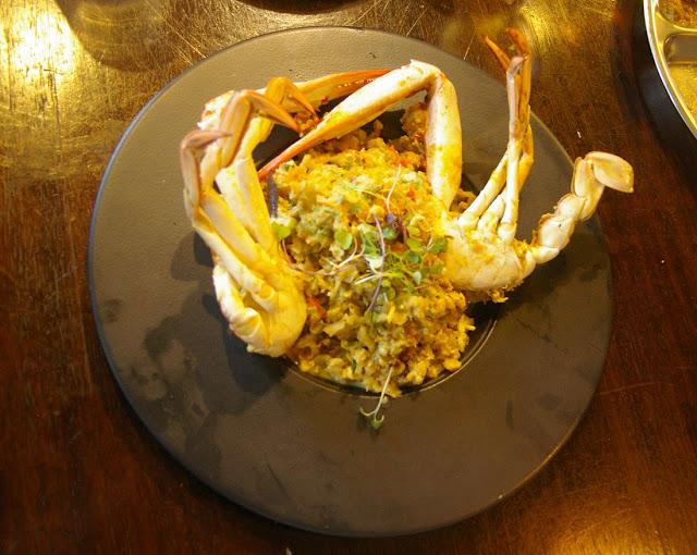 Pavlov's Duck, Fitzroy, Sri Lankan, crab