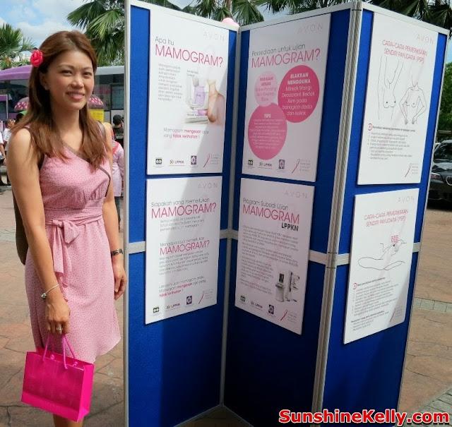 Avon, Avon Kiss Goodbye to Breast Cancer 2013, Bus, Mydin Malaysia, Breast Cancer awareness