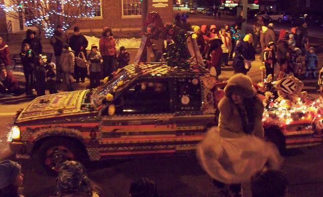 "Giddy-Up Art Car Wins Prestigious ""Cluck Award'' at the Annual ""Eggstock Festival"""